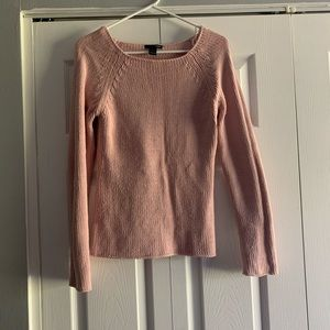 Dusty pink knit H&M sweater